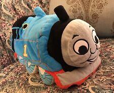 "Thomas the Train Beanbag Plush Microbead Pillow 16"" Gullane Thomas & Friends"