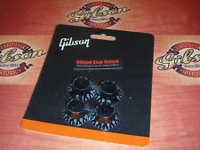 Gibson Les Paul Knobs Top Hat Set Black Guitar Parts SG V Firebird ES Custom HP