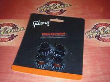 Gibson Les Paul Knobs Top Hat Set Black Guitar Parts SG V Firebird ES Custom HP