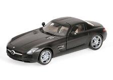 Minichamps Mercedes-Benz SLS AMG 2010 1:18 flat black (MCC)