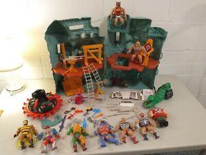 Castle Grayskull He-Man Mattel Masters of the Universe MOTU Lot 1981Figures Nice