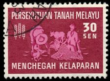 MALAYA 112 (SG33) - Freedom from Hunger Campaign (pf6195)