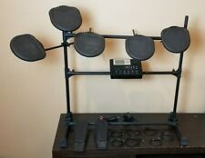 ION IDM02 Module Drum Machine Stand Electronic Trigger Pads, Pedals & ALL Cables