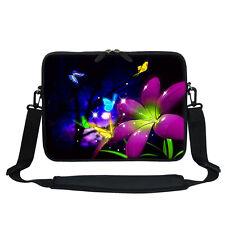 """Neoprene Laptop Bag w Hidden Handle & Shoulder Strap Fit Chromebook 11.6"""" 2703"""