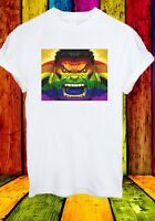 Hulk Superhero LGBT Flag Gay The Avengers Men Women Unisex T-shirt 2753