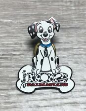 Disney Store 102 Dalmatians Domino With Bone Logo Pin