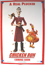 CHICKEN RUN PROMO - A REAL PLUCKER US ONE SHEET FILM POSTER