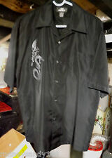 Slightly Used  Men Size Medium City Impact Black Dragon Shirt 100% Polyester