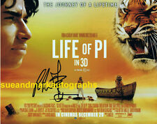 SALE Ang Lee Director Oscar Winner Life Of Pi Poster Image Autograph UACC  RD 96