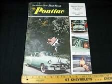1953 Pontiac Chieftan, Catalina Car Sales Brochure