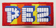 PEZ Candy Logo - Iron-On Embroidered Patch - #3L02