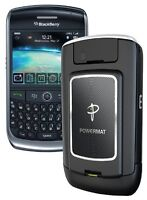 POWERMAT RECEIVER SKIN CASE FOR BLACKBERRY CURVE 8900, NEW