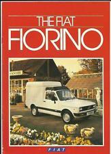 FIAT FLORINO VAN TRUCK LORRY SALES BROCHURE 1985
