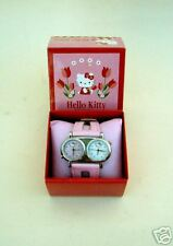 OROLOGIO HELLO KITTY IDEA REGALO NUOVO