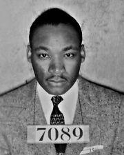 1956 Activist MARTIN LUTHER KING JR Mugshot Glossy 8x10 Photo Print Poster