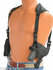 Shoulder Holster Horizontal Deluxe model fits Glock 26 27 28 39 use L or R hand