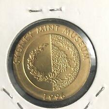 1996 SYDNEY MINT MUSEUM MEDAL UNC (Dan22C3)