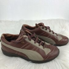 Puma Sevilla Rudolf Dassler Mens Athletic Shoes Sneakers Brown And Tan Size 8.5