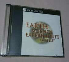Earth Science Experiments on File - Facts on File - NEW