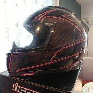 Icon Airframe Carbon RR Motorradhelm Pink M, Helm, Racing, Integralhelm Wie Neu