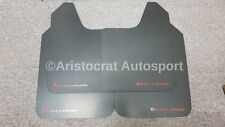 RALLY ARMOR BASIC UNIVERSAL MUD FLAPS RED LETTERING SET OF FOUR! MF12-BAS-RD