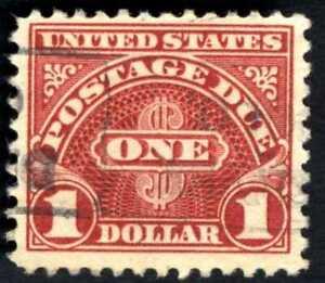 US POSTAGE DUE  1 DOLLAR STAMP SC#D4