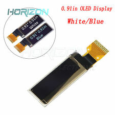 White/Blue 0.91in 128x32 OLED Display Module OLED Stable SSD1306 LCD