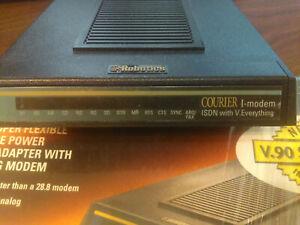 3Com US Robotics Courier I-Modem V.34 V.90 128K 128Kbps+ ISDN V.Everything Mint