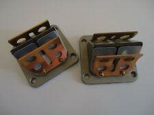 Brand New Yamaha RD350 YPVS Reed Blocks / Valves & Fibre Reeds