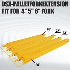 60'' 72'' 84'' 96'' Pallet Fork Extension Forklift Extensions Forklift Loaders