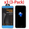 3-Pack Transparent Tempered GLASS Screen Protector For iPhone 6 / 7 / 8 Plus NEW
