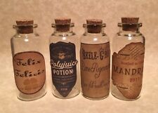 Halloween Apothecary Potion Bottles Small Harry Potter Party Decorations Prop