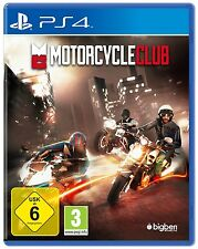 PS4 Motorcycle Club Motorcycle Race Game NEW