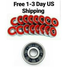 8-Pack Ceramic Si3N4 Skateboard Bearings 8x22x7mm 608 Abec-9 11 inline fast