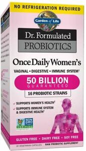 Garden of Life Dr. Formulated Once Daily Women's Shelf Stable Probiotics 16 Stra