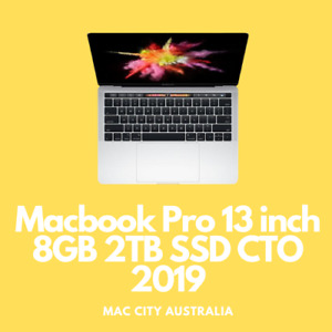 """As New Apple MacBook Pro 13.3"""" Touch Bar 2019 2TB SSD CTO with Warranty"""