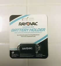 Rayovac Extra Advanced size13 Hearing Aid Batteries/Battery Caddy 9/2022 Expiry