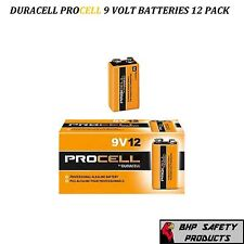 DURACELL PROCELL 9 VOLT PROFESSIONAL ALKALINE BATTERIES 9V (12 PACK/ 12 EACH)