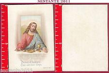 3288 SANTINO HOLY CARD PRENEZ MANGEZ CECI EST MON CORPS A. & M. B. 1900