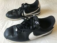 Nike Cortez '72 Leather Black White Men's Size 8.5 Shoes Sneakers Classic Style