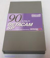 MAXELL Professional Betacam CASSETTA CASSETTE b-90ml BQ SP 90 minuti NUOVO