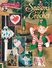 "Crochet Holiday patterns ""Seasons of Crochet"" Annie Potter"