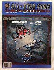 Official NHL All-Star Game in Vancouver Program 1998 Canucks