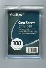 1000 Pro-Safe Standard Size Clear Card Penny Sleeves 2 5/8 x 3 5/8(67mm x 92mm)