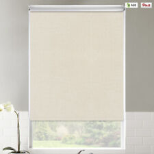 Set of 2 Classic Fabric Roller Shades, 31 inches wide, 46 inches long