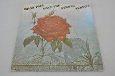 Billy Paul - Only the strong survive - Soul 70er - Album Vinyl Schallplatte LP
