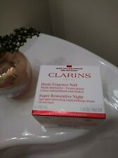 Clarins Super Restorative Night Cream 1.6 oz./ 50 ml Full Size New Sealed Boxed