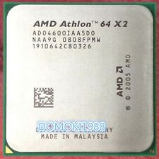 AMD Dual Core CPU Athlon 64x2 4600+ ADO4600IAA5DO 2.4GHz Socket AM2