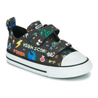 Converse Chuck Taylor All Star 2V Gamer Print Kid's Toddler Sneaker Shoes