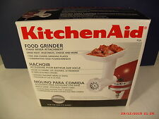 NEW KITCHEN AID FGA FOOD GRINDER STAND MIXER ATTACHMENT GRIND MEAT CHEESE - MOM